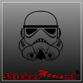 Storm trooper sticker