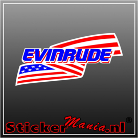 Evinrude 1 full colour sticker