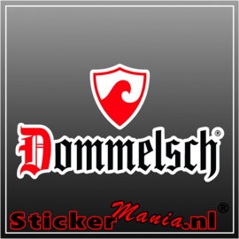 Dommelsch full colour sticker