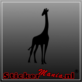 Giraffe 4 sticker