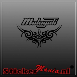 Malaguti tribal sticker