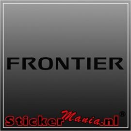 Nissan frontier sticker