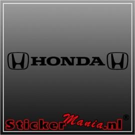 Honda raamstreamer sticker