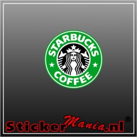 Starbucks Full Colour sticker