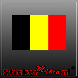 België Full Colour sticker