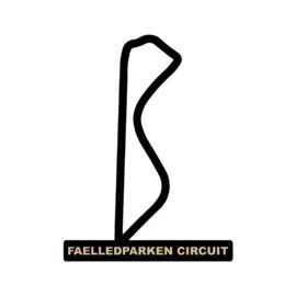 Faelledparken circuit op voet