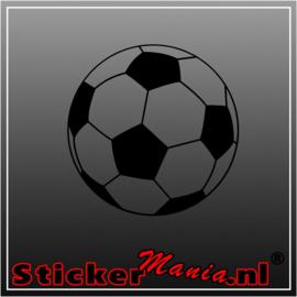 Voetbal 2 sticker