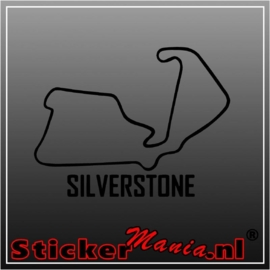 Silverstone circuit sticker