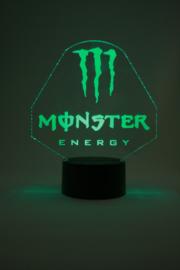 Monster energy led lamp