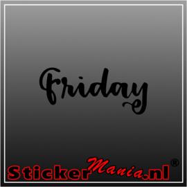 Friday sticker