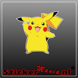 Pikachu Full Colour sticker