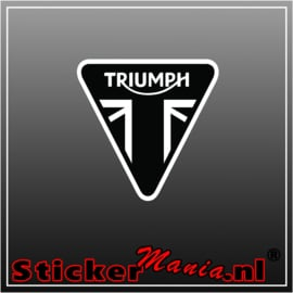 Triumph full colour sticker