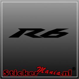 Yamaha R6 sticker