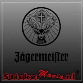 Jägermeister 1 sticker