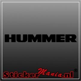 Hummer sticker