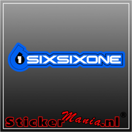 Sixsixone full colour sticker