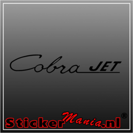 Ford cobra jet sticker