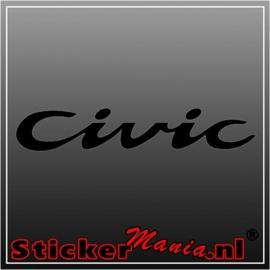 Honda civic 2 sticker