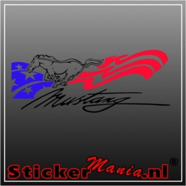 Ford mustang sticker