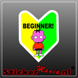Beginner Full Colour sticker