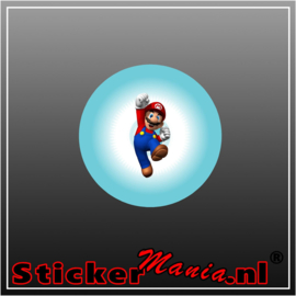 Mario 2 Full Colour sticker