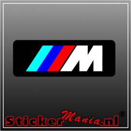 BMW M serie full colour sticker