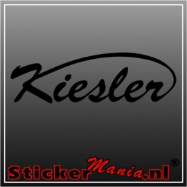 Kiesler sticker