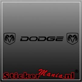 Dodge ram raamstreamer sticker