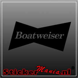 Boatweiser sticker
