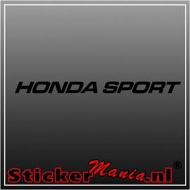 Honda sport raamstreamer sticker