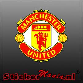 Manchester united Full Colour sticker