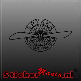 Spyker sticker