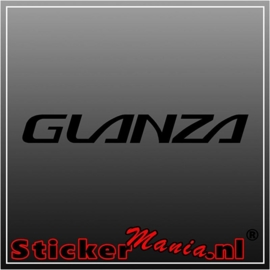 Toyota glanza sticker