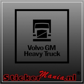 Volvo GM heavy truck sticker
