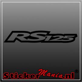 RS125 sticker