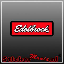 Edelbrock Full Colour sticker