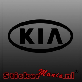Kia logo sticker