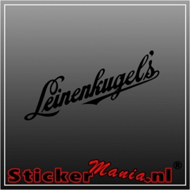 Leinenkugels sticker