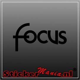 Ford focus sticker