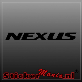 Gerila nexus sticker
