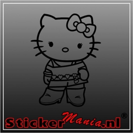 Hello kitty stoer sticker