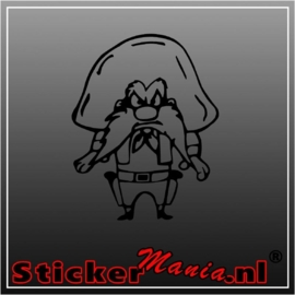 Yosemite sam sticker