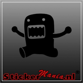 Domo happy sticker