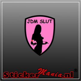 JDM Slut Full Colour sticker