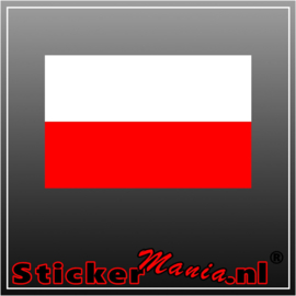 Polen Full Colour sticker