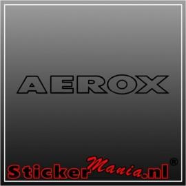Aerox sticker
