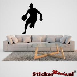 Muursticker basketbal 4