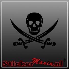 Skull 14 sticker