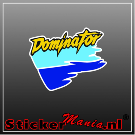 Honda dominator full colour sticker