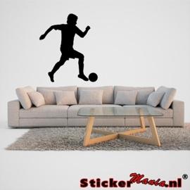 Muursticker voetbal 5